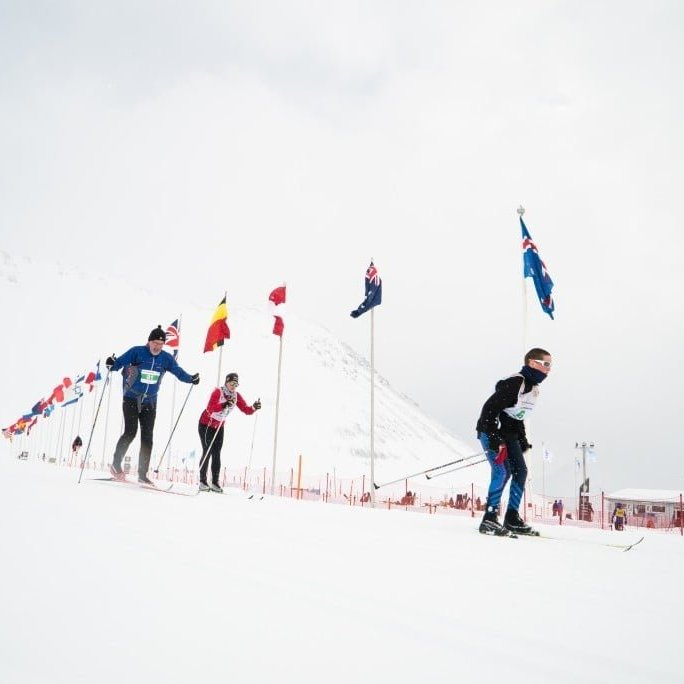 Fossavatnsgangan, a cross country ski festival held in Isafjörður