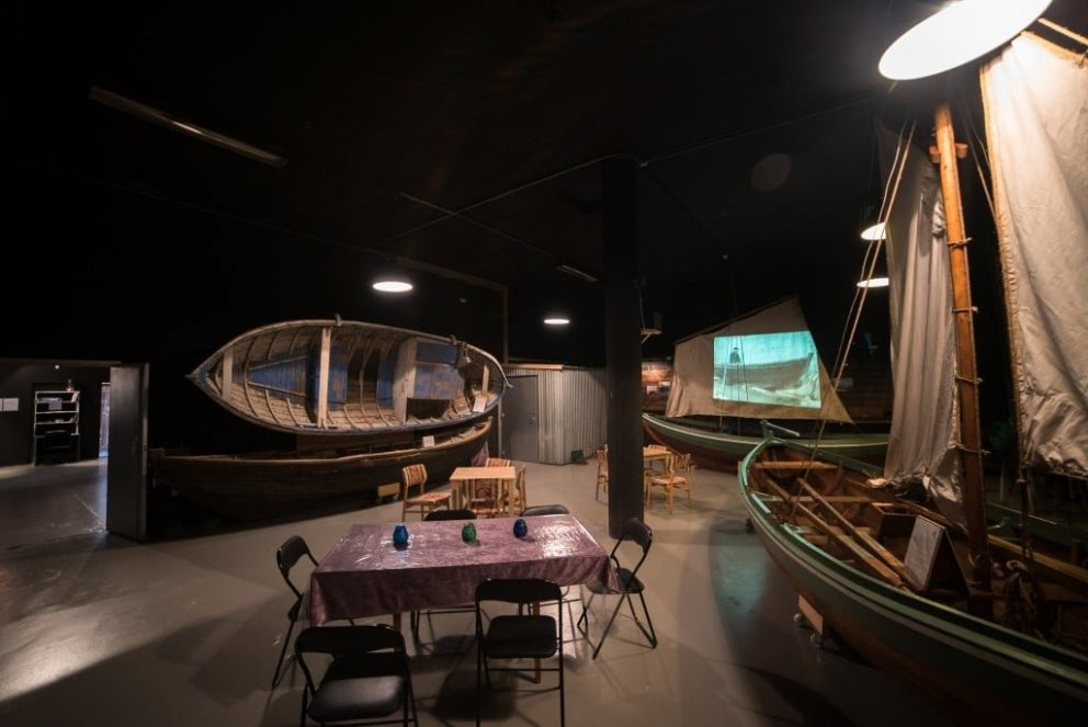 The Boat- and gift of nature exhibition in Reykhólar