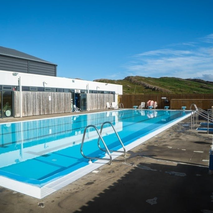 The Swimming pool in Hólmavík