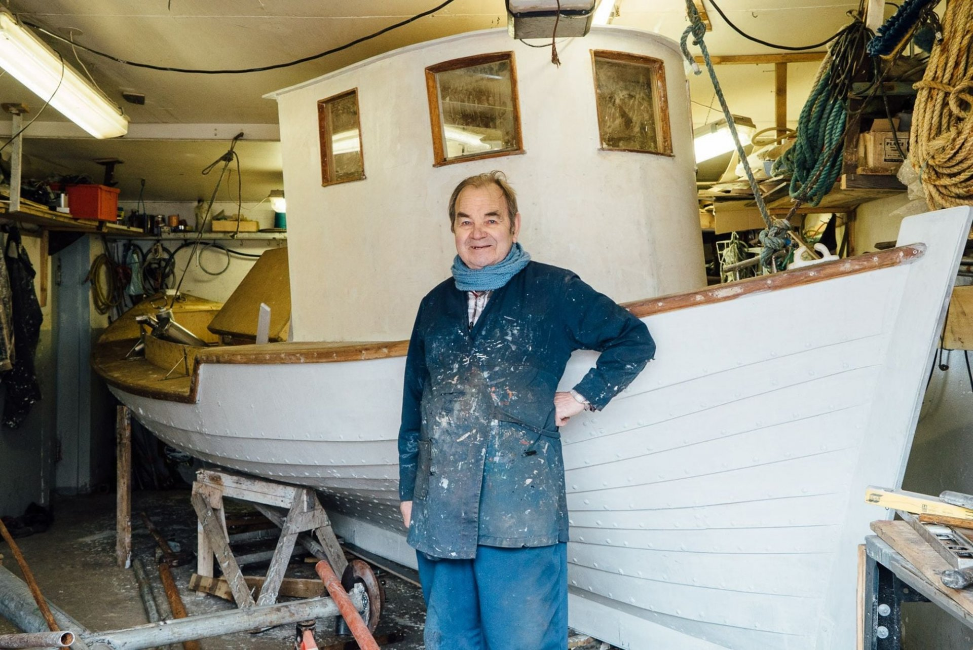 Beggi the Boat builder
